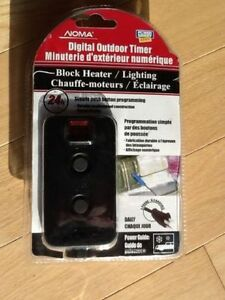 "TIMER ""Digital INDOOR/OUTDOOR Timer""--NEW--$10"