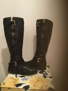 GUESS Leather Boots Size 8