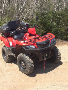 2012 KING QUAD 500AXI with EPS for TRADE