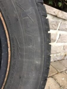 Winter tires with Rims Toyota Corolla