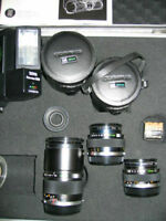 OLYMPUS CAMERA LENS and ACCESSORIES FOR SALE WPG
