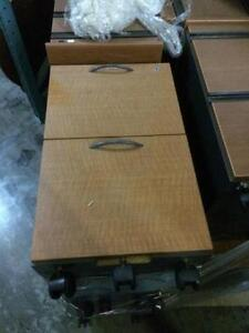 Pedestals, small file cabinets, office supply drawers