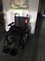 "Breezy 600 Wheelchair with 3"" Comfort Cushion"