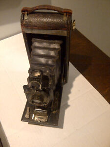 Antique folding Kodak camera from the 1900's
