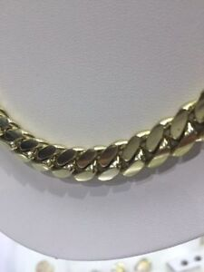 SOLID CUBAN GOLD CHAIN London Ontario image 3