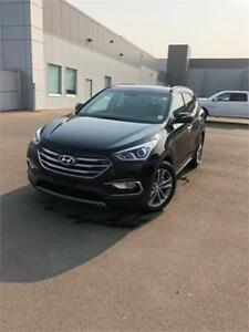 2017 Hyundai Santa Fe Sport,B-U/CAM, APPLE CAR PLAY $210 B/W