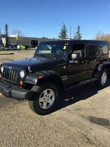 2011 Jeep Wrangler Unlimited 4WD UNLIMITED SPORT Finance $235 bw