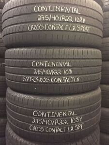 22 Inch LIKE New USED Tires @ Amazing Prices