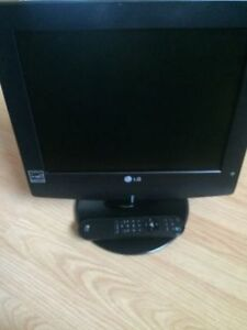 "Lg 15"" LCD TV with energy star and remote control"
