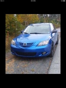 **sold**2005 Mazda 3 parts car ( not road worthy)