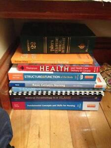 LPN textbooks from NBCC Moncton for sale!