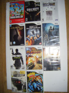 Wii games for sale in Truro.