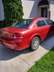 2006 Chrysler Sebring Sedan Touring Edition AS-IS Windsor Region Ontario image 2