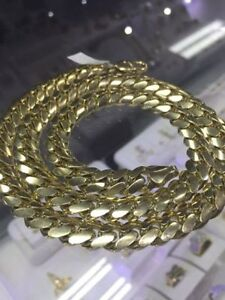 SOLID CUBAN GOLD CHAIN London Ontario image 4
