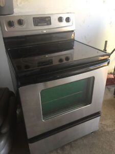 """Whirlpool 30"""" electric stainless steel ceramic stove oven range"""