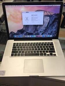 "15"" Macbook pro 2.66Ghz intel core  I7, 8G/500G HDD $699"