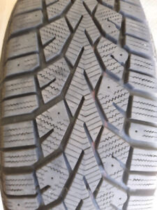 Winter tires - almost new