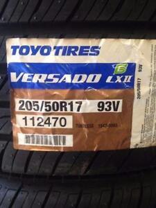 4 Brand New Toyo Versado LX 2 205/50R17 All Season Tires *** WallToWallTires.com ***