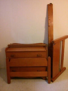 Matching Dresser & Twin Bed Frame London Ontario image 1