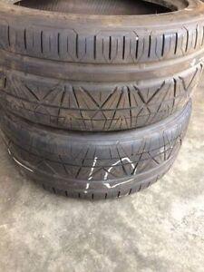 225/45R17 NITTO INVO all season tires...2 pieces