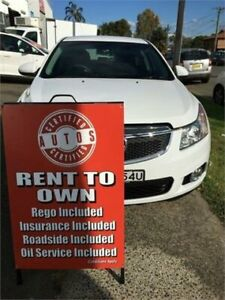 2013 Holden Cruze JH MY13 CD White 6 Speed Automatic Hatchback Liverpool Liverpool Area Preview