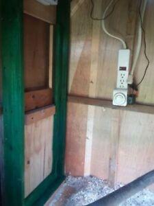 porte automatique pour poullailier