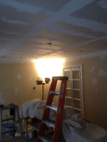 Insulation, Boarding, Taping, Filling.