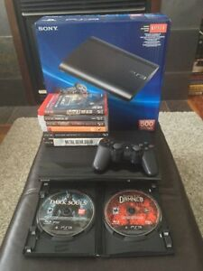 Playstation 3 500GB Super Slim and games