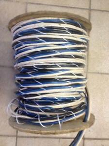 Rouleau de fil  regroupes 2 x cat5 + 2 R Domotique et CCTV  135$