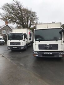 Choice of 2 MAN TGL 7.150 7.5 tonne lorry truck commercial vehicle van 2008