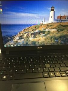 Acer 250 gb hard drive, i3 cpu , 4 gb ram, win 7