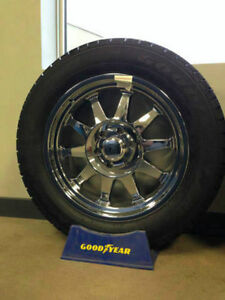 BRAND NEW Eagle Alloy 012 Rims with 275/55/20 Goodyear LS2 tires