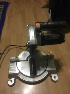 "Mastercraft 7 1/4"" compound Mitre Saw with laser line for Repair"