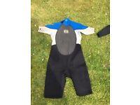 Mens Billabong Extra-Large Shorty Wetsuit