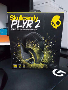 Skullcandy PLYR 2 Wireless Headest (black and yellow)