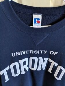 Like-New U of T Unisex Sweatshirt, Large
