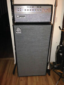 Ampeg Bass SVT-VR + Ampeg Bass SVT-AV 810 Cambridge Kitchener Area image 1