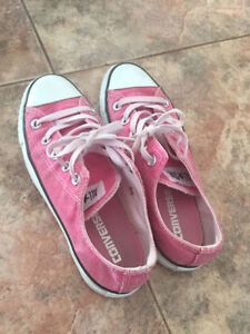 Pink Canvas Converse All Star Sneaker Fits size 7 EUR 36.5