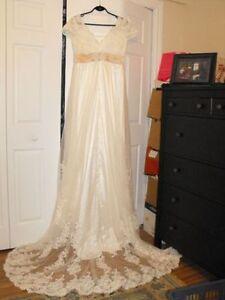 Robe de mariée, conçue sur mesure, neuve et jamais portée