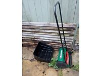 Used Manual Hand Push Lawn Mover