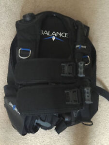 Aqualung SeaQuest Balance BCD size ML. - scuba diving
