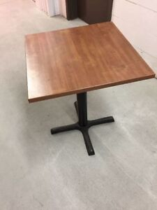 AVAILABLE - High Quality Restaurant Bar Bistro Table
