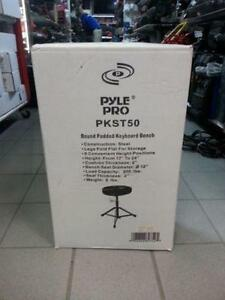 Pyle instrumental stool.We sell used music Supplies.(# 8082)