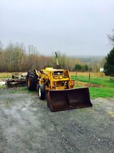 Diesel Tractor with Loader
