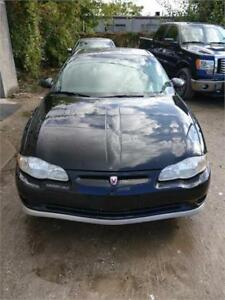 2002 CHEVROLET MONTE CARLO SS SAFETIED FOR $3950+HST