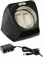 Diplomat 31-498 Glossy Black Finish Watch Winder NEW IN BOX