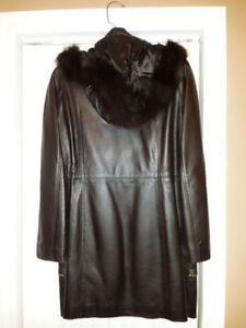 Ladies Vogue Leather Coat St. John's Newfoundland image 2
