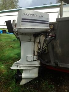 {REDUCED} 115HP Johnson Outboard Motor FOR SALE