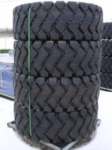 NEW SET OF 4 X 20.5X25 20.5 X 25 WHEEL LOADER TIRES