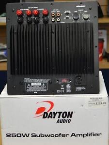 Amplificateur de caisse de basse Dayton audio 250w Neuf
